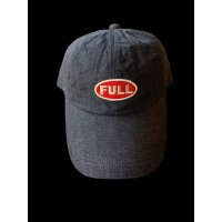 FULL COUNT フルカウント 6PANEL DENIM F BASEBALL CAP FULLパッチ