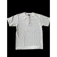 GUNZ ガンズ ヘンリーネックTEEシャツ 星条旗 ティーシャツ GUNZ  ホワイト