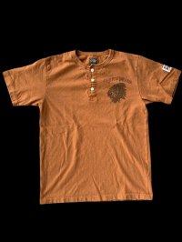 GUNZ ガンズ ネイティブTEEシャツ ヘンリーネックティーシャツ GUNZ  NUT BROWN