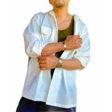 他の写真1: MOSSIR モシール Petreri ペトレリ オープンカラーシャツ ホワイト