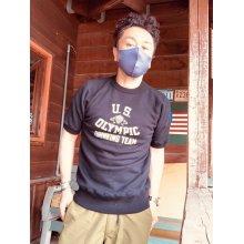 他の写真1: CUSHMAN(クッシュマン)MINI PILE SWEAT TEE 半袖スウェットBLACK